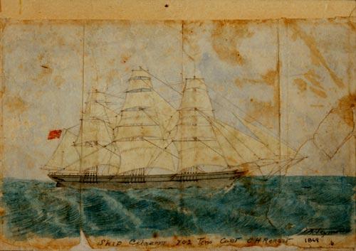 Immigrant ship the Celaeno