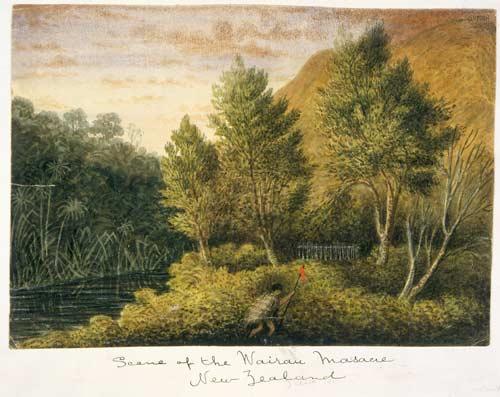 Nz Massacre: 'Scene Of The Wairau Massacre'