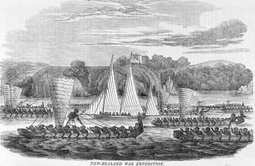 'New Zealand war expedition', 1835
