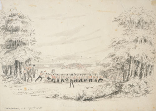 'Ohaiawai, N.Z. 1 July 1845'