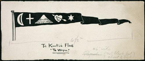 Te Kooti's flag