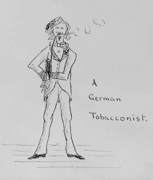 A German tobacconist