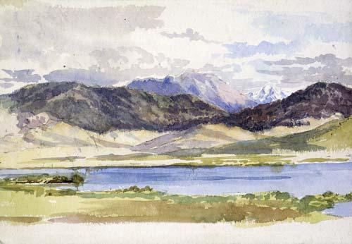 Lake Horowhenua.