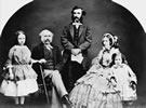 Thomas Gore Browne with his wife and family