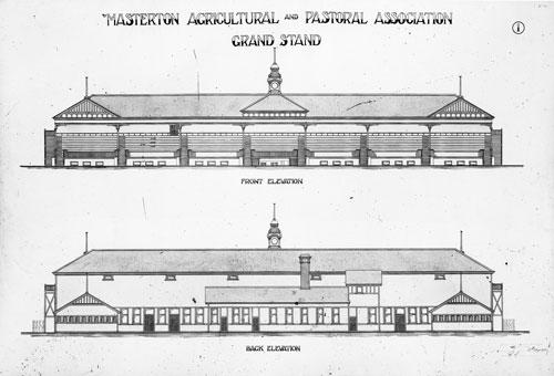 Masterton grandstand