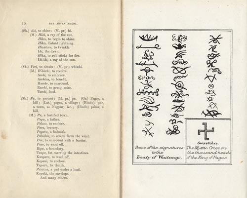 Aryan And Mori Language And Symbols Ideas Of Mori Origins Te
