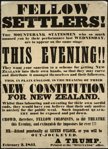 A handbill, 1851