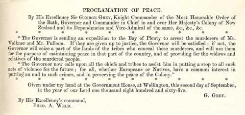 Te Pānui, 1865