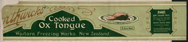 Borthwicks meat label