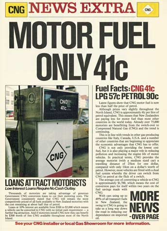 CNG advertising