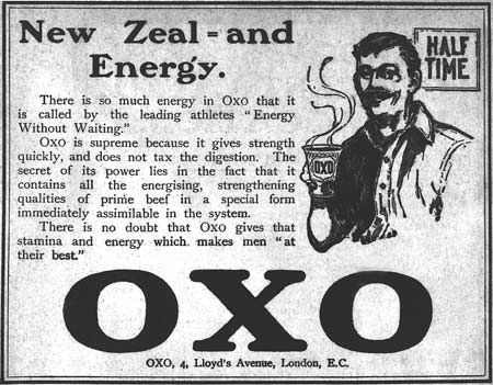 Advertisement for Oxo