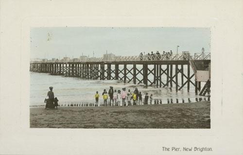 New Brighton, Christchurch, 1909