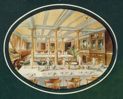 Shipboard dining