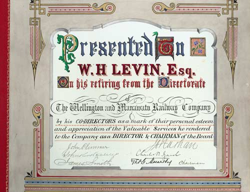 Farewell to W. H. Levin