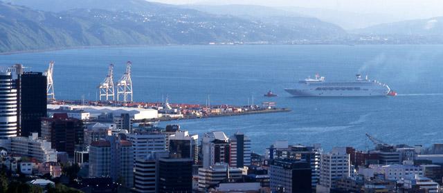 Wellington city and port