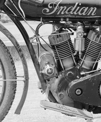 Indian racing motorcycle