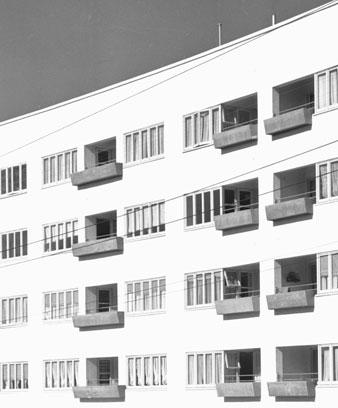 Symonds St Flats, Auckland, 1947