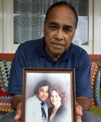 Grieving widower