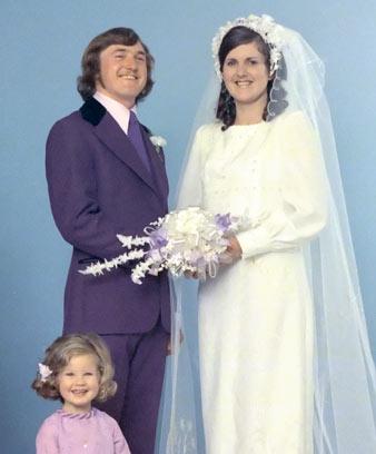 Kulinksi wedding, 1975