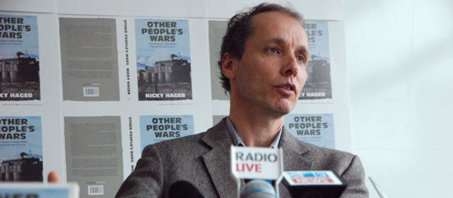 Investigative journalist Nicky Hager