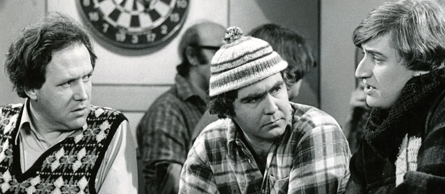 David McPhail, Chris McVeigh and Jon Gadsby in 1970s television comedy A week of it