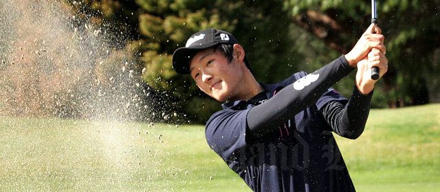 Young golf star Danny Lee, 2008