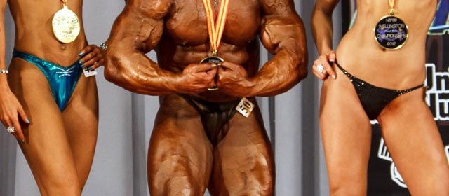 Wellington bodybuilding champions, 2012