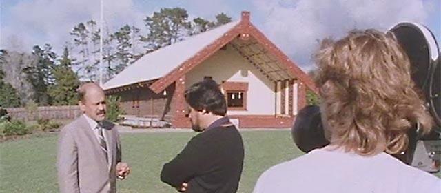 Whai Ngata interviews Pita Sharples for <em>Te karere</em>, 1985