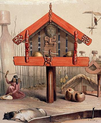 Pātaka, 1840s