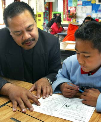 Language learning in Ōtara, Auckland