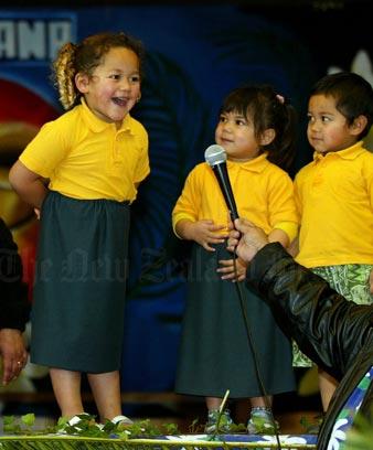Children from Kia Orana Punanga Reo