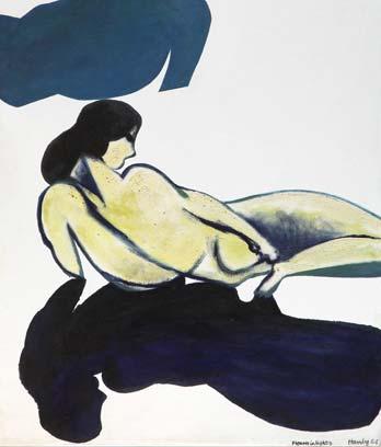 Pat Hanly, 'Figures in light 9'