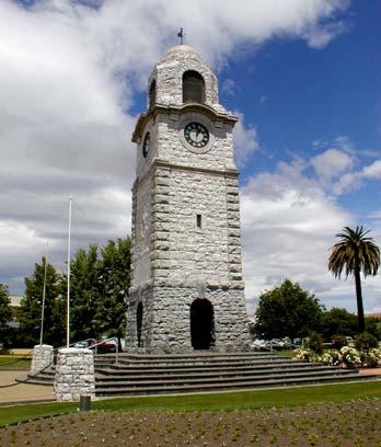 Blenheim war memorial