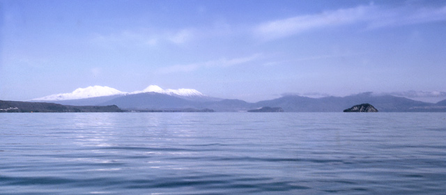 Lake Taupō and Mt Tongariro
