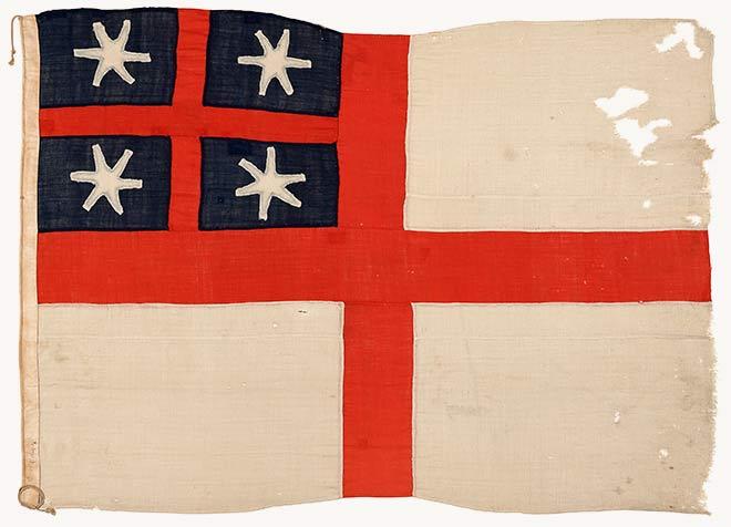 New Zealand Company flag, 1839