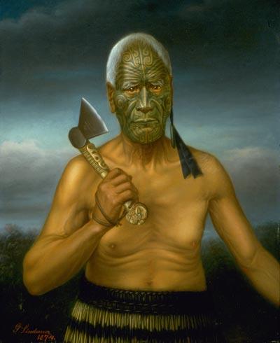 Tāraia Ngākuti Te Tumuhuia by Gottfried Lindauer