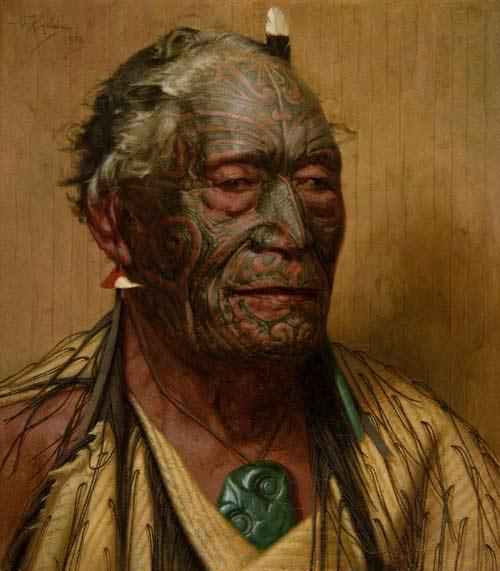 Tāmati Wāka Nene by C.F. Goldie