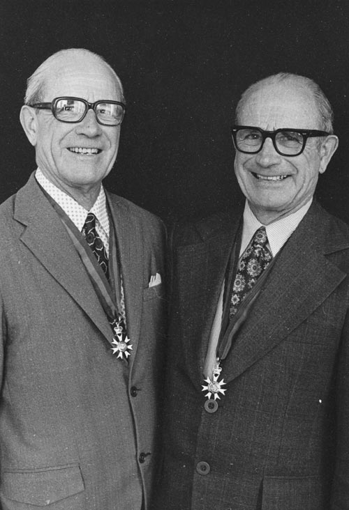 Herbert Leslie Bockett and his brother Arthur