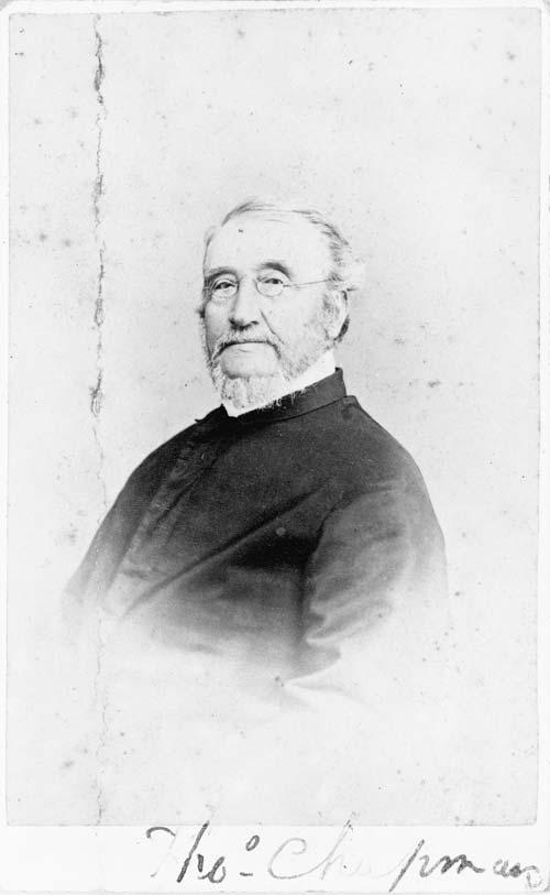 Thomas Chapman, 6 January 1872