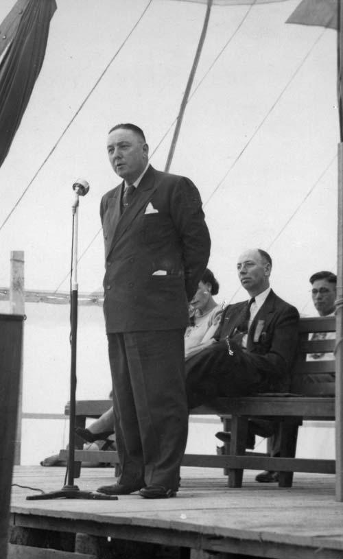 Mormon missionary Matthew Cowley, 1940s