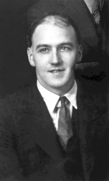 Norman Vazey Douglas, about 1938