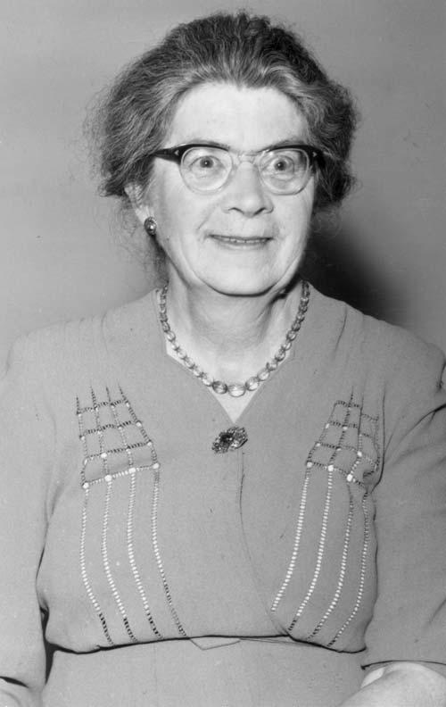 Ida Gertrude Eise, 6 December 1956