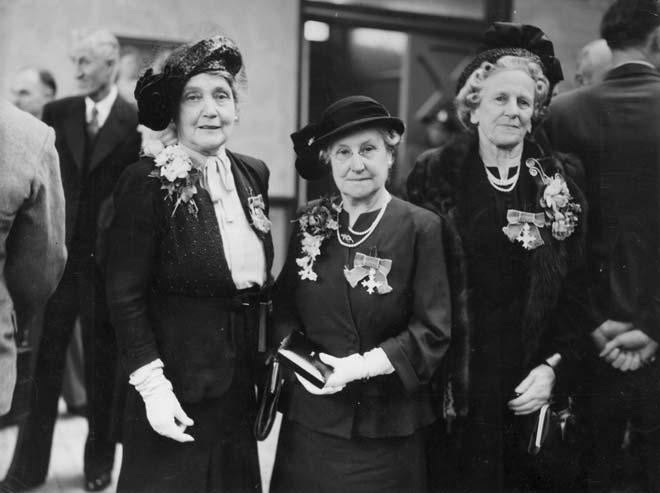 MBE recipients, 1949