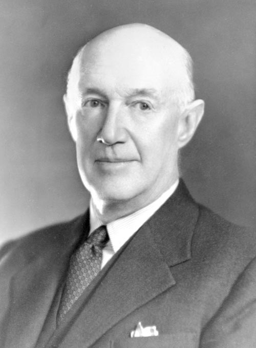 Dairy industry leader William Goodfellow