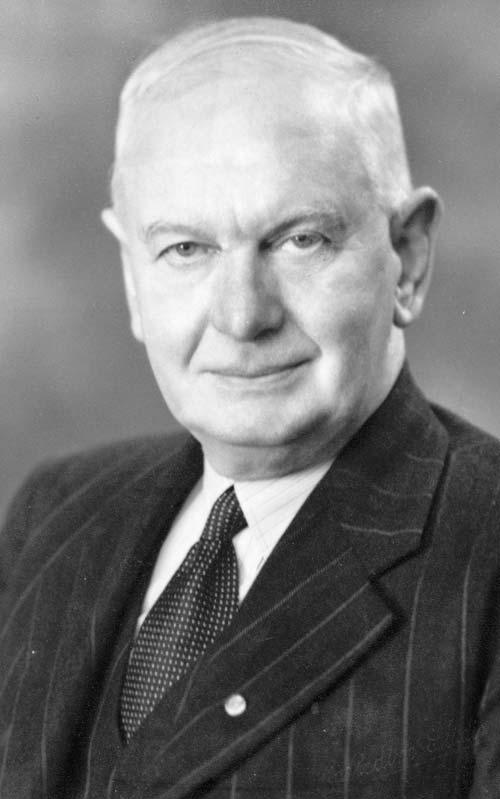Frederick George Hall-Jones, 1955