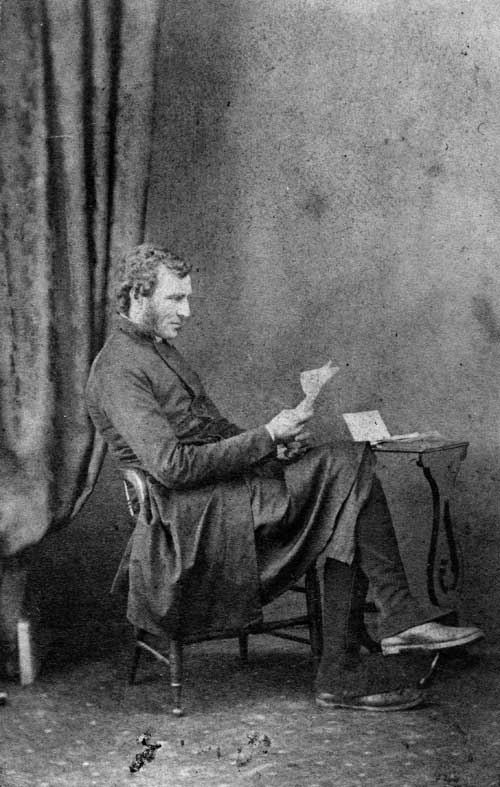 Edmund Hobhouse photographed in the 1860s or 1870s