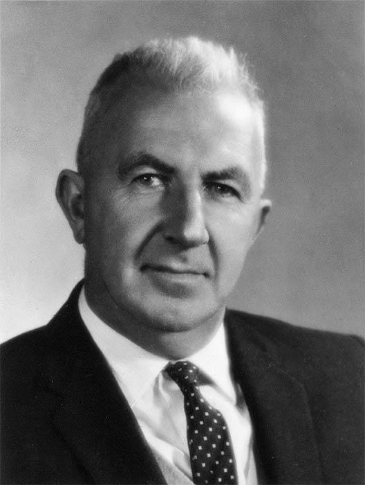 Harold Hirst Innes during his term as a Hamilton City Councillor, 1956-59