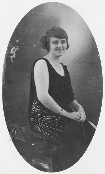 Jean McKenzie, around 1928