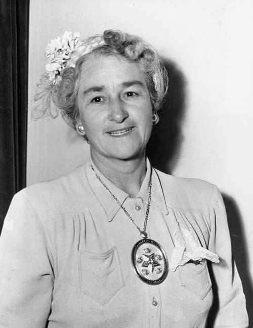 Jessie Iris Martin at Istanbul, 1955