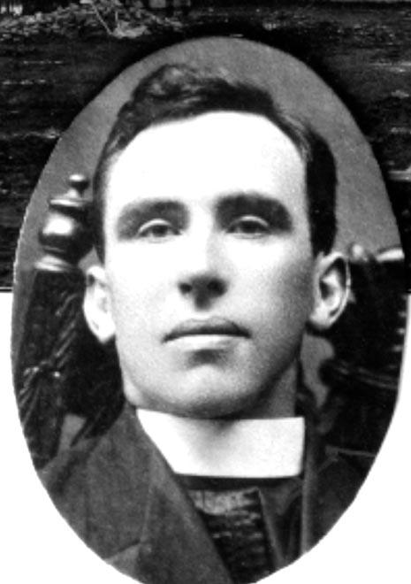 Nicholas Moore in the early years of his priesthood
